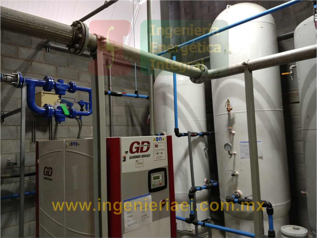 Instalación de tubería de Aluminio Parker Transair