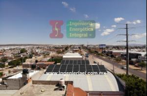 Instlación Sistema Fotovoltaico Benedettis León 1