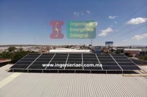 Instlación Sistema Fotovoltaico Benedettis León 2