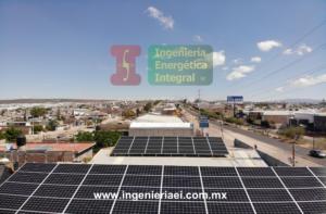 Instlación Sistema Fotovoltaico Benedettis León 3