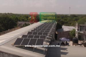 Sistema Fotovoltaico Mérida Pizzería 1 IEI