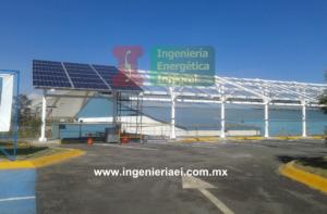 Sistema Fotovoltaico para estacionamiento 1
