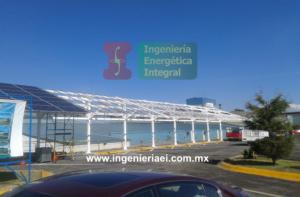 Sistema Fotovoltaico para estacionamiento 3