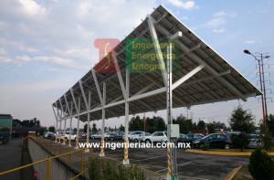 Sistema Fotovoltaico para estacionamiento 8